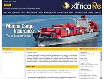 africa-re.com screenshot
