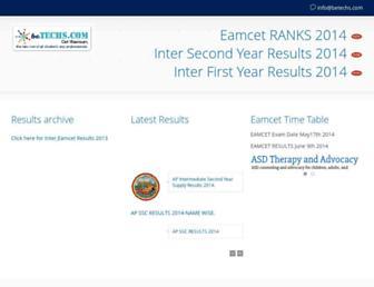 results.betechs.com screenshot