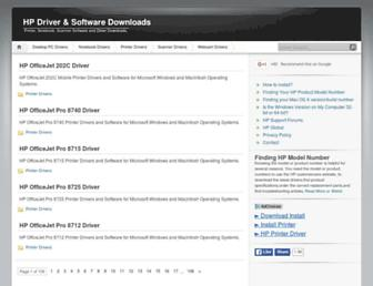 hpdriver.net screenshot