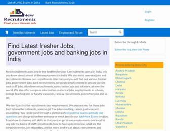 newrecruitments.com screenshot