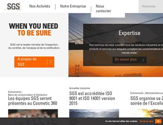 sgsgroup.fr screenshot