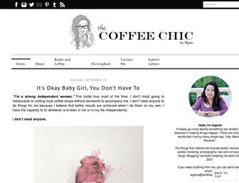 iamthecoffeechic.com screenshot
