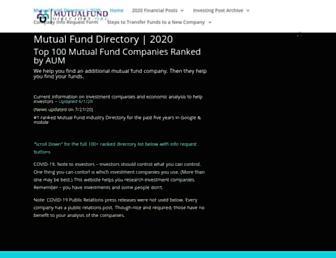 mutualfunddirectory.org screenshot