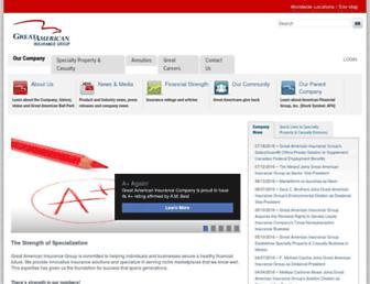 greatamericaninsurancegroup.com screenshot