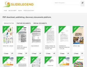 slidelegend.com screenshot