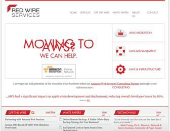redwireservices.com screenshot