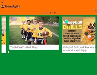 sportsaspire.com screenshot