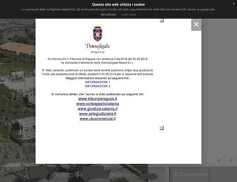 donnafugatagolfresort.com screenshot