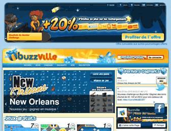 buzzville.com screenshot