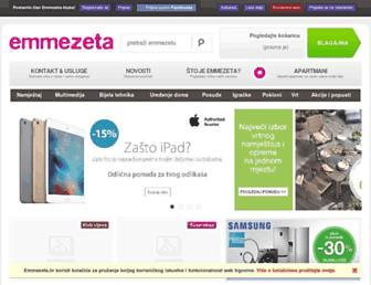 emmezeta.hr screenshot