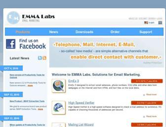 emmalabs.com screenshot