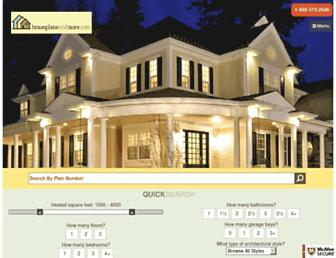 houseplansandmore.com screenshot
