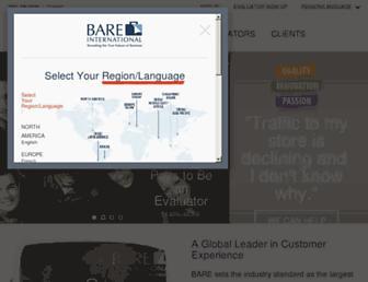 Thumbshot of Bareinternational.com