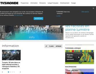 tv5monde.com screenshot