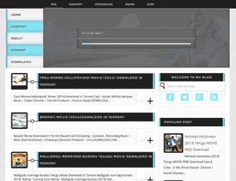 allmoviesdownloud.blogspot.com screenshot