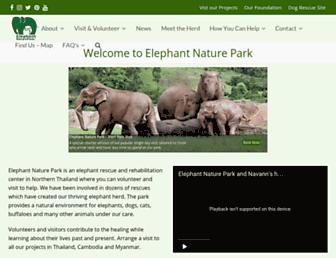 Thumbshot of Elephantnaturepark.org