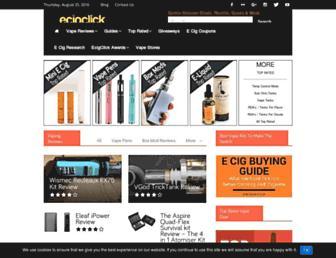 ecigclick.co.uk screenshot
