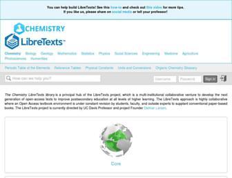 chem.libretexts.org screenshot