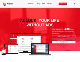 adlock.com screenshot