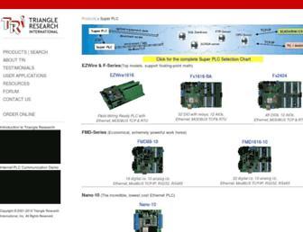 tri-plc.com screenshot