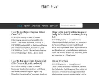 Thumbshot of Namhuy.net