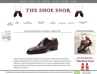 Thumbshot of Theshoesnobblog.com