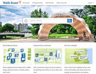 Thumbshot of Walkscore.com