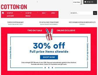 Thumbshot of Cottonon.com