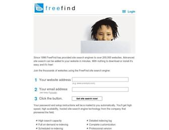 Thumbshot of Freefind.com