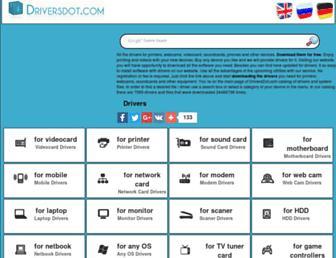 driversdot.com screenshot