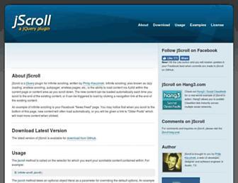 Thumbshot of Jscroll.com