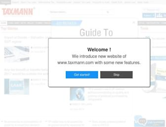 taxmann.com screenshot