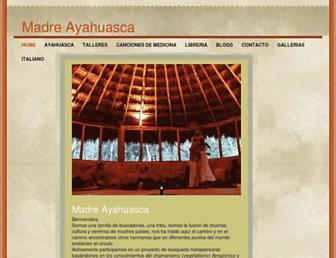 madreayahuasca.com screenshot