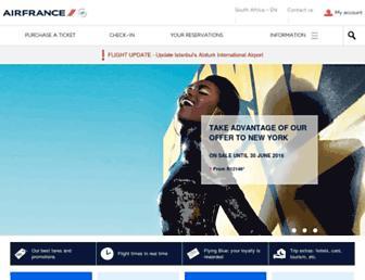 Thumbshot of Airfrance.co.za