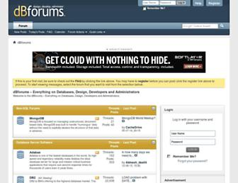 Thumbshot of Dbforums.com