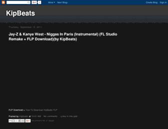 kipbeats.blogspot.com screenshot