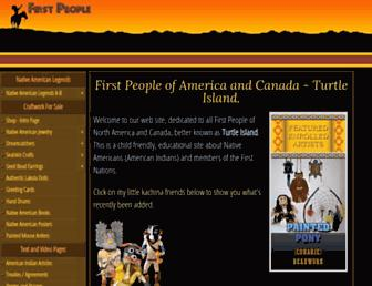 Thumbshot of Firstpeople.us