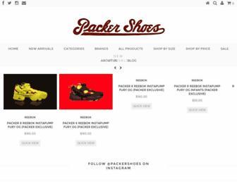 Thumbshot of Packershoes.com
