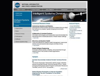 ti.arc.nasa.gov screenshot