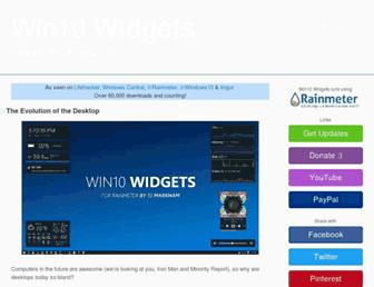 win10widgets.com screenshot