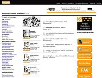parkermotion.com screenshot