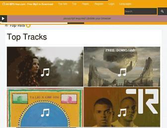 all-mp3-free.com screenshot
