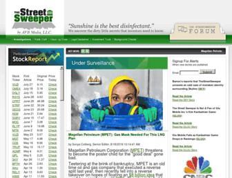 Thumbshot of Thestreetsweeper.org