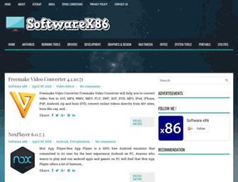softwarex86.com screenshot