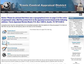 Main page screenshot of traviscad.org