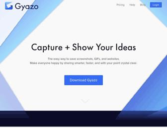 Thumbshot of Gyazo.com