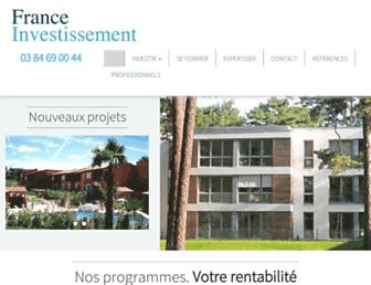 f-investissements.com screenshot