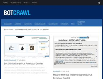 botcrawl.com screenshot