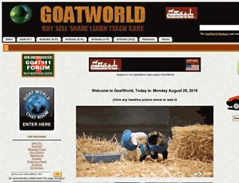 Thumbshot of Goatworld.com