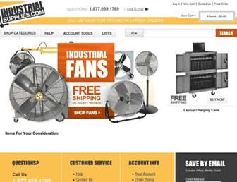 industrialsupplies.com screenshot
